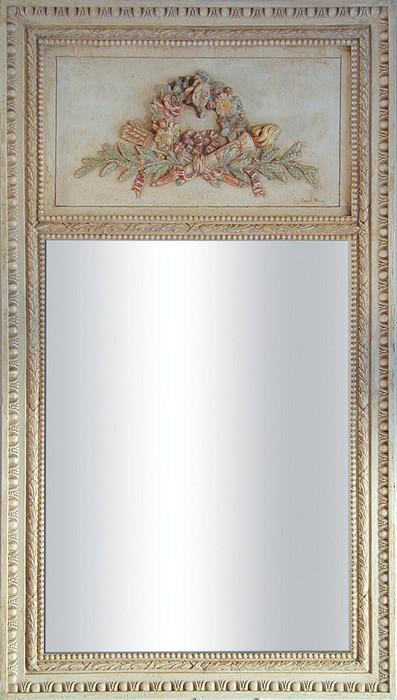 Trumeau couronne for Coeur couronne et miroir