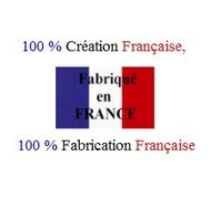 100 % fabriqué en France. Made in France