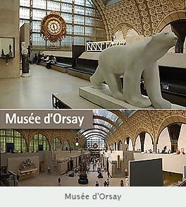 Fournisseur officiel en miroirs pour les boutiques des Musées Nationaux du musée d'Orsay