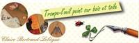 Trompe-l'oeil peint sur bois et toile