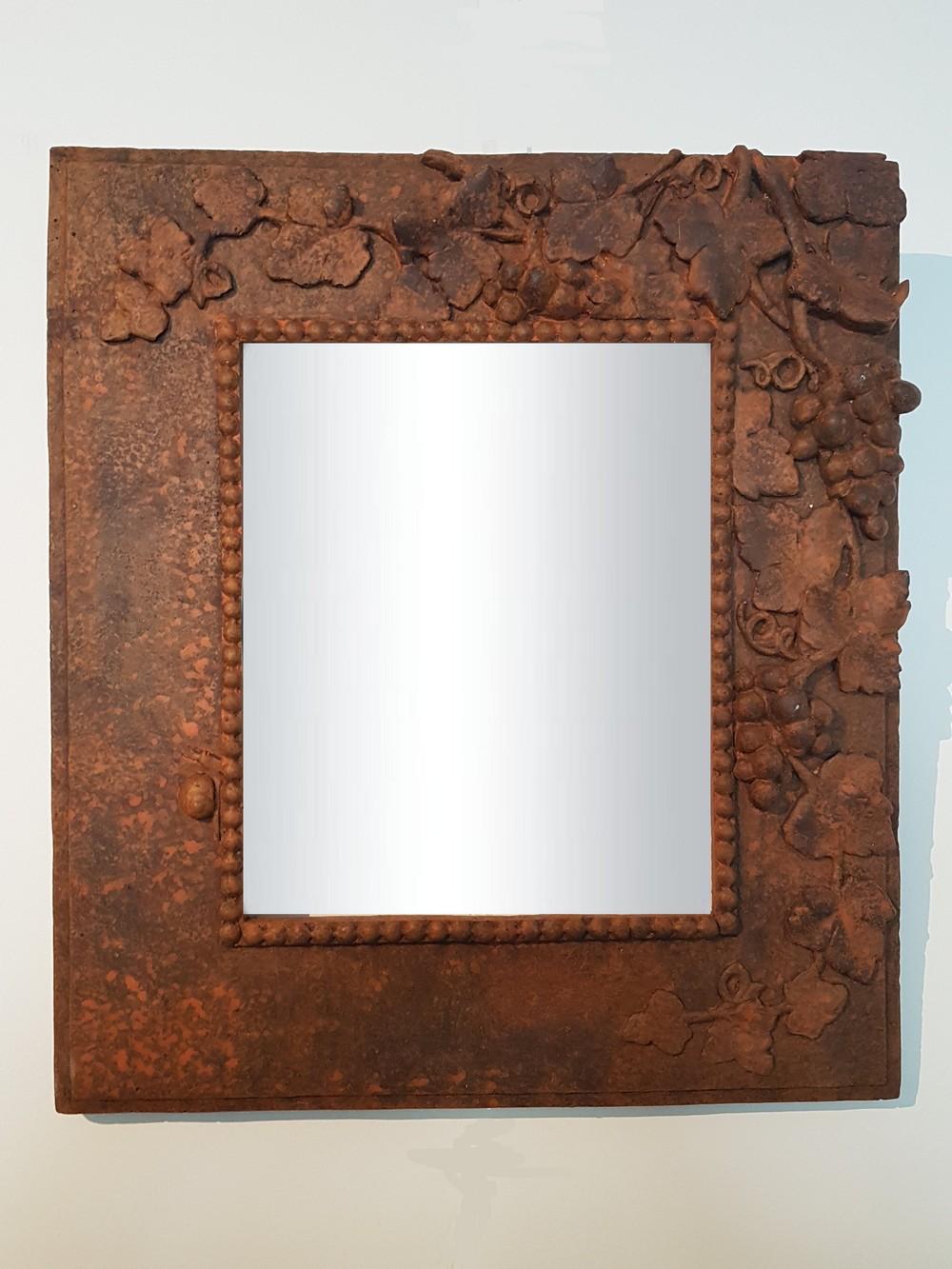 miroir automne rouille