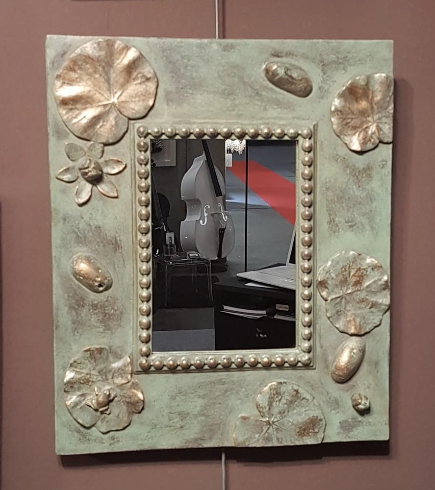 miroir Zen  bronze
