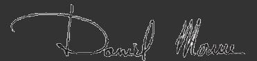 Signature Daniel MOURRE